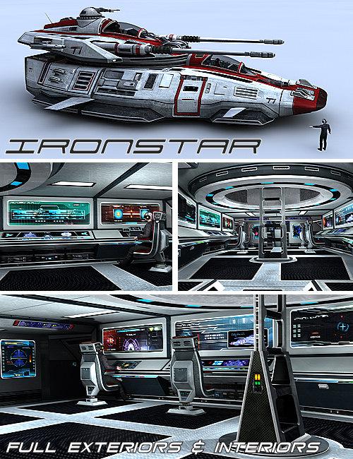 Ironstar by: Kibarreto, 3D Models by Daz 3D