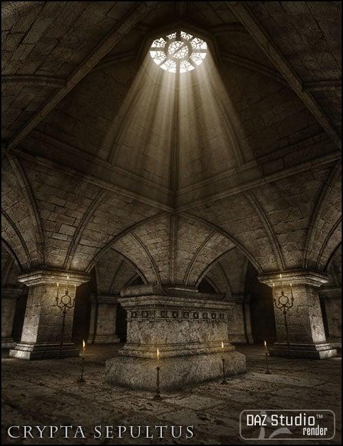 Crypta Sepultus by: Jack Tomalin, 3D Models by Daz 3D