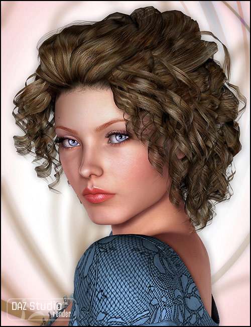 Twyla Hair by: goldtassel, 3D Models by Daz 3D