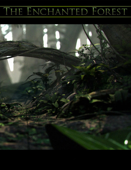 The Enchanted Forest by: Stonemason, 3D Models by Daz 3D