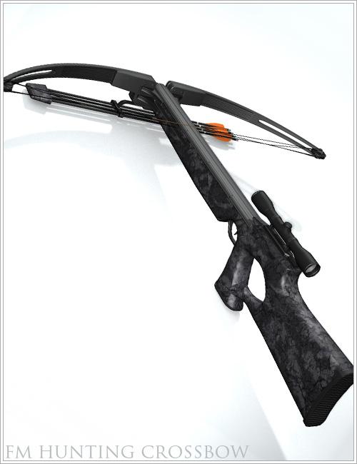 Hunting Crossbow by: Flipmode, 3D Models by Daz 3D