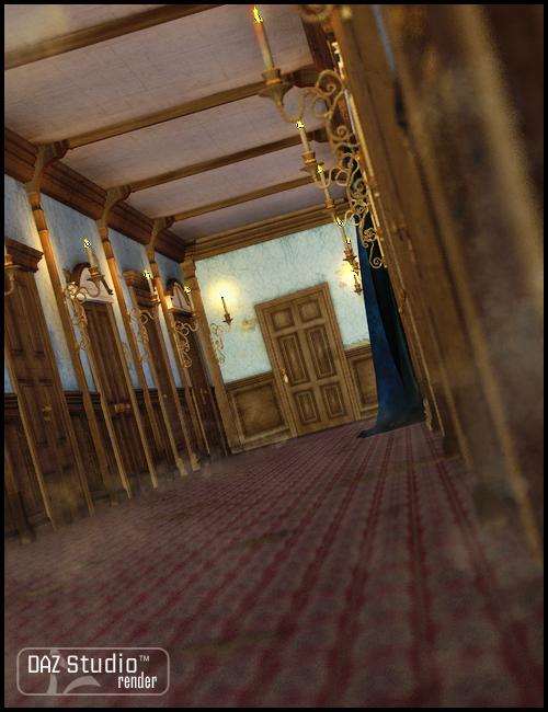Hallways by: JGreenlees, 3D Models by Daz 3D
