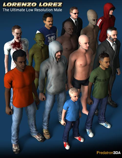 Lorenzo Lorez by: Predatron, 3D Models by Daz 3D