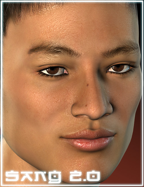 Jepe's Sang 2.0 by: Jepe, 3D Models by Daz 3D