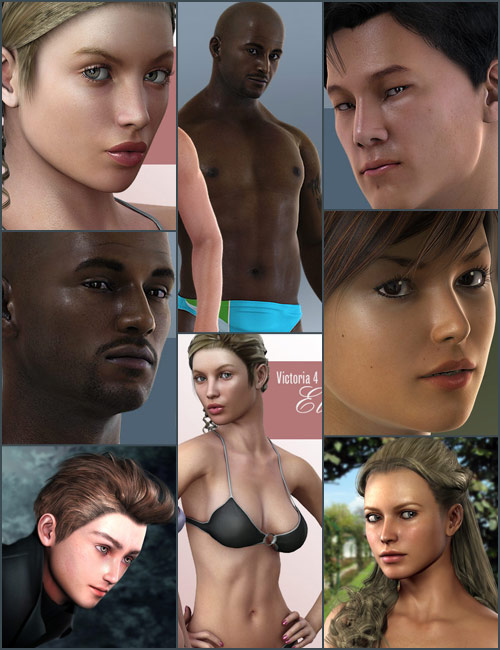 Photo Realism Bundle by: AprilYSHNeftis3D-Yannek-, 3D Models by Daz 3D