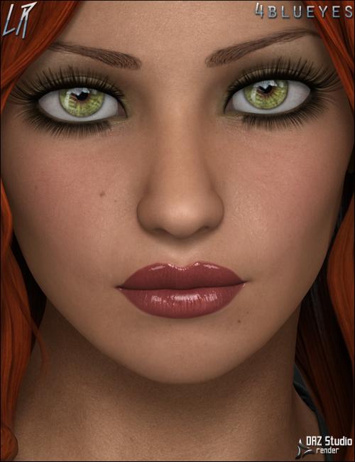 Eavan V4 by: Liquid Rust, 3D Models by Daz 3D