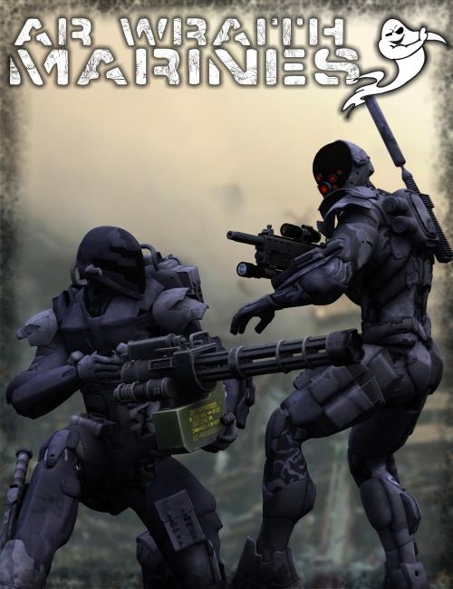 AR Wraith Marines by: DzFireZeroDays, 3D Models by Daz 3D