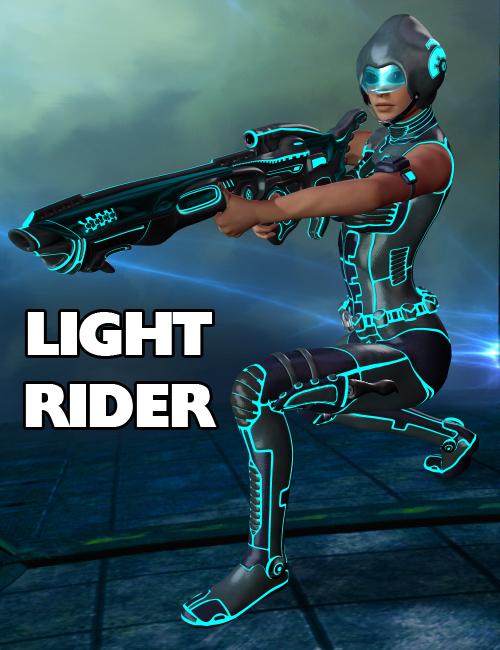 Light Rider by: midnight_stories, 3D Models by Daz 3D