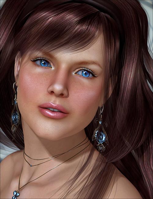 Caroline by: addy, 3D Models by Daz 3D