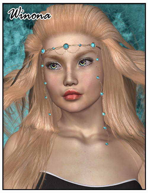 Winona Windhair by: SWAM, 3D Models by Daz 3D