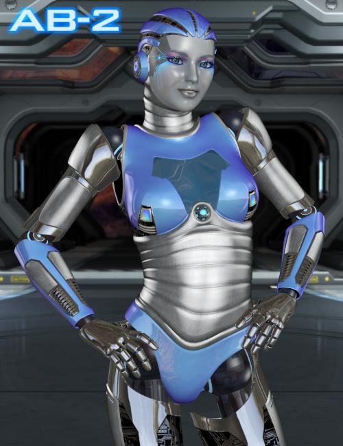 Aikobot 2 by: Parris, 3D Models by Daz 3D