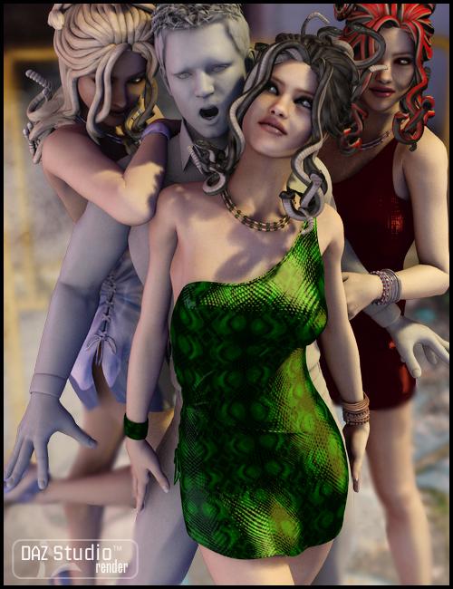 Chicari for V4 by: KittysTavernSWAM, 3D Models by Daz 3D