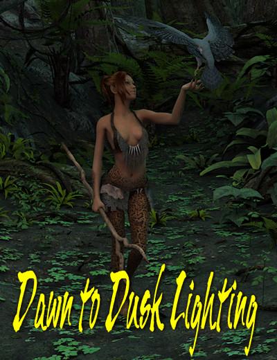 Dawn to Dusk Lighting by: IDG DesignsInaneGlory, 3D Models by Daz 3D