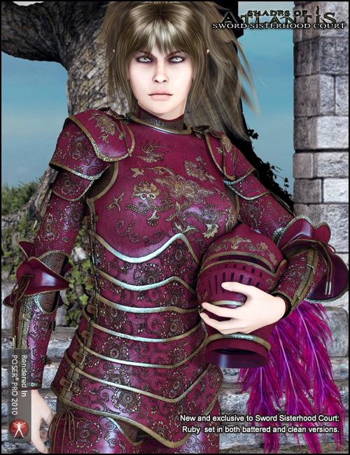 Sword Sisterhood Court by: Arien, 3D Models by Daz 3D