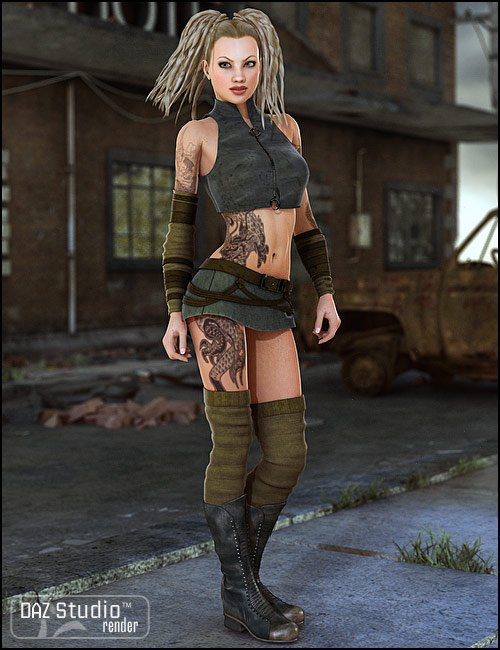 Citizen Wicked Hereafter by: Xena, 3D Models by Daz 3D