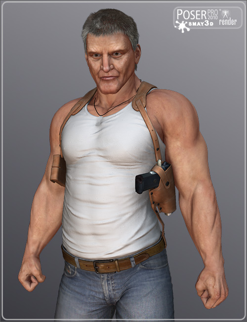 Bad Guy for M4 by: smay, 3D Models by Daz 3D