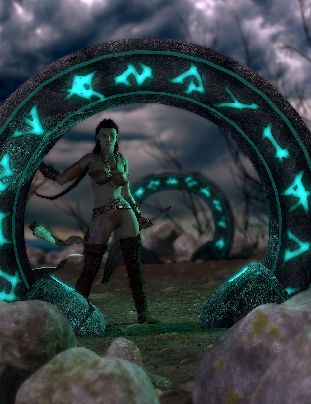 Neitherhenge by: Orestes Graphics, 3D Models by Daz 3D