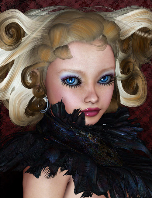 Raysee Doll by: , 3D Models by Daz 3D