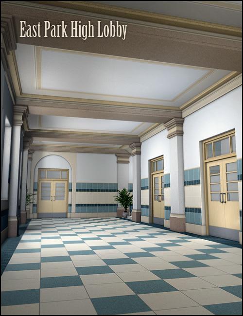 East Park High Lobby by: Gordana, 3D Models by Daz 3D
