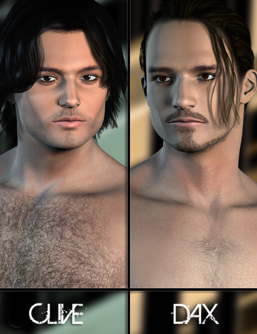 Jepe's Double Feature Clive and Dax by: Jepe, 3D Models by Daz 3D