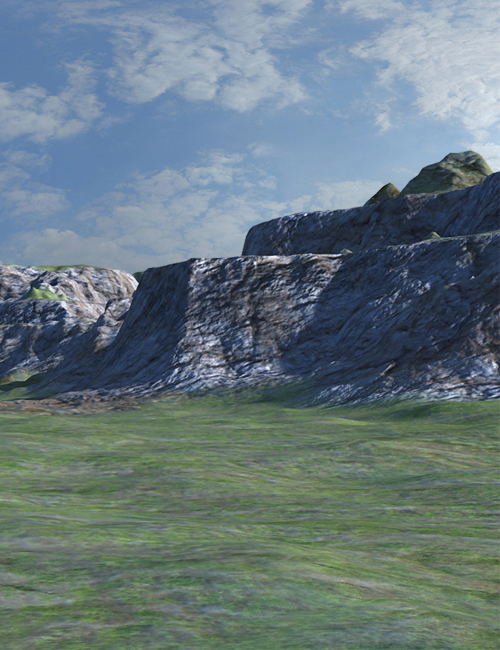 Canyon Terrain by: SoulessEmpathy, 3D Models by Daz 3D