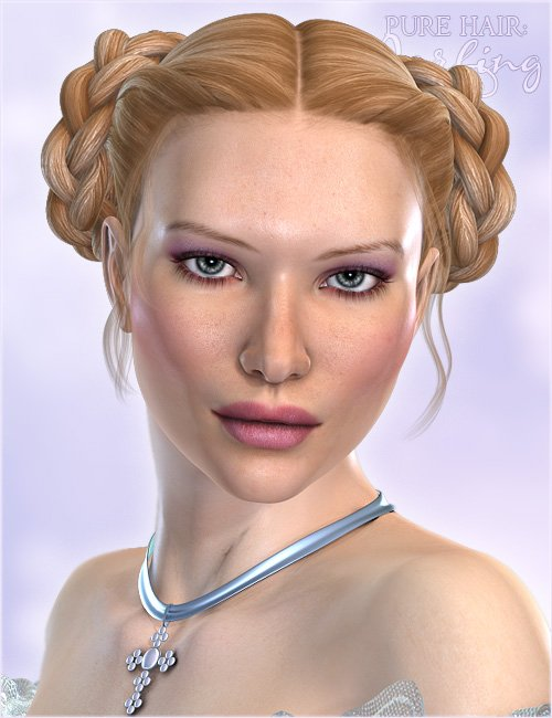 Pure Hair: Darling by: Valea, 3D Models by Daz 3D