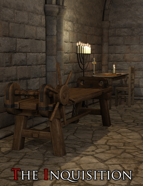 The Inquisition by: Flipmode, 3D Models by Daz 3D