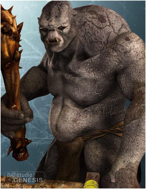 Troll for Genesis by: , 3D Models by Daz 3D