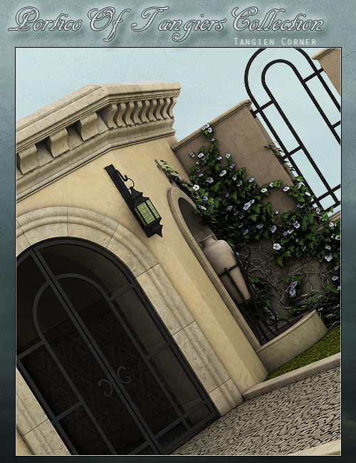 Tangien Corner by: ForbiddenWhispersFWDesign, 3D Models by Daz 3D