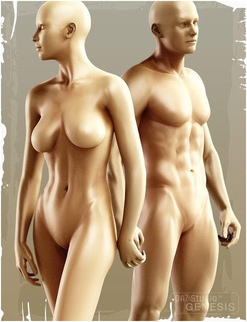 Genesis Evolution: Body Morphs by: , 3D Models by Daz 3D