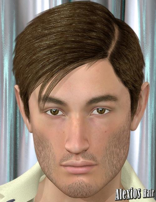 Alexios Hair by: 3DreamMairy, 3D Models by Daz 3D