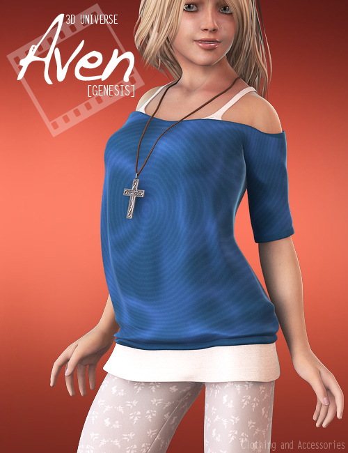 Aven Clothing for Genesis by: 3D Universe, 3D Models by Daz 3D