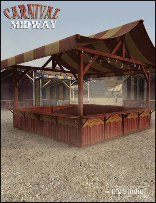 Carnival Midway by: Jack Tomalin, 3D Models by Daz 3D