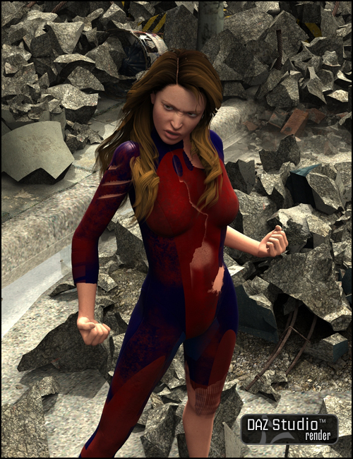 Extreme Heroes: Chronicles by: Muscleman, 3D Models by Daz 3D