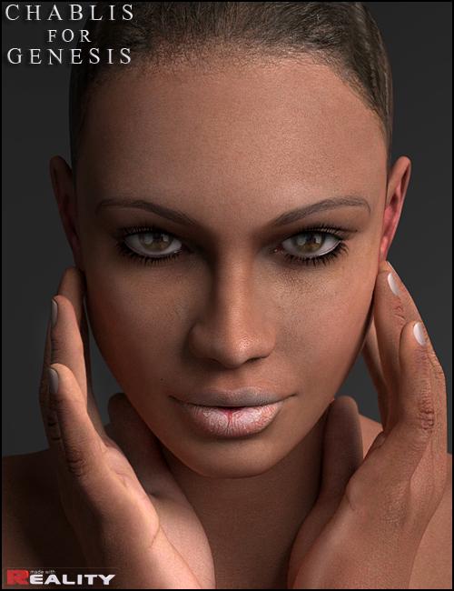 Chablis for Genesis/V4 by: Morris, 3D Models by Daz 3D