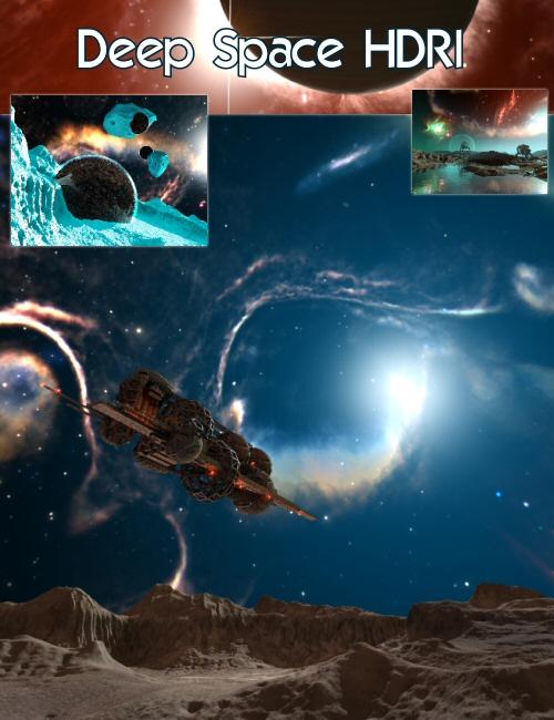Bryce 7 Pro Deep Space HDRI 1 by: HoroDavid Brinnen, 3D Models by Daz 3D