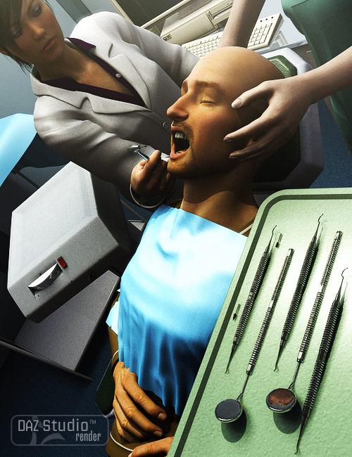 Dental Tools by: Valandar, 3D Models by Daz 3D