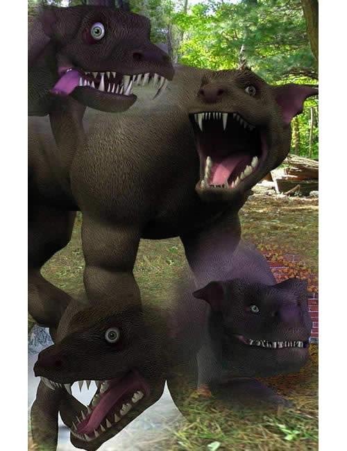 Gargoyle Hound by: , 3D Models by Daz 3D