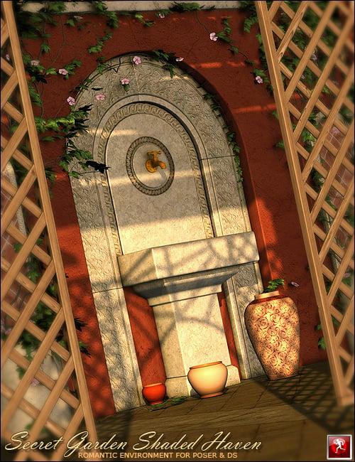 Secret Garden Shaded Haven by: FWDesignForbiddenWhispers, 3D Models by Daz 3D