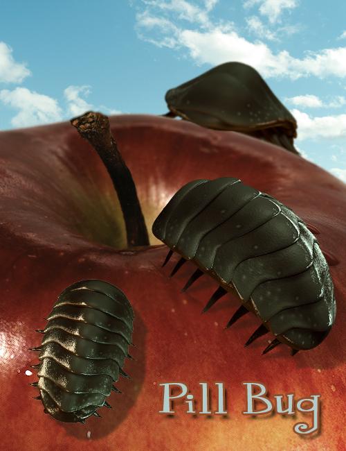 Pill Bug by: The AntFarm, 3D Models by Daz 3D