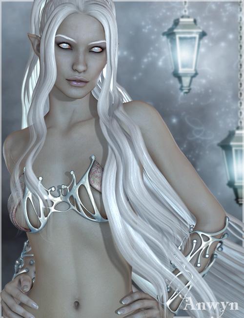 Anwyn for V4 & Genesis by: Raiya, 3D Models by Daz 3D