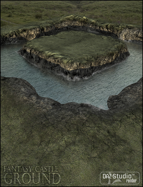 Fantasy Castle Grounds by: Jack Tomalin, 3D Models by Daz 3D