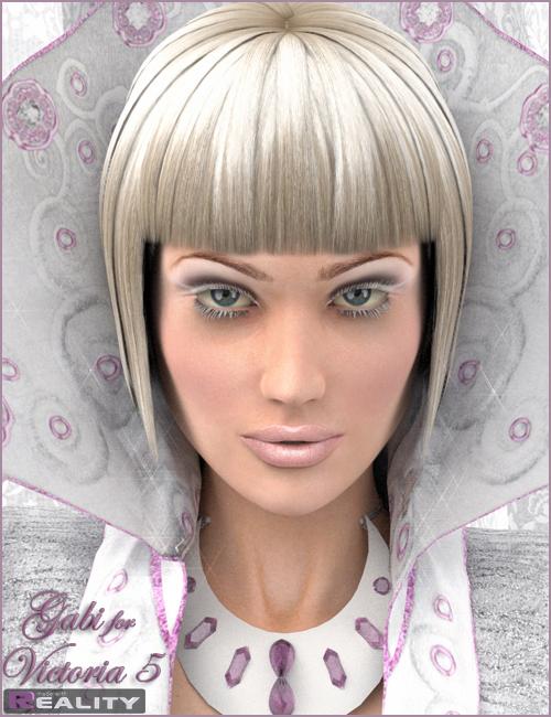 Gabi for V5 by: Morris, 3D Models by Daz 3D