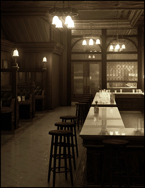 Bar Interior by: SoulessEmpathy, 3D Models by Daz 3D