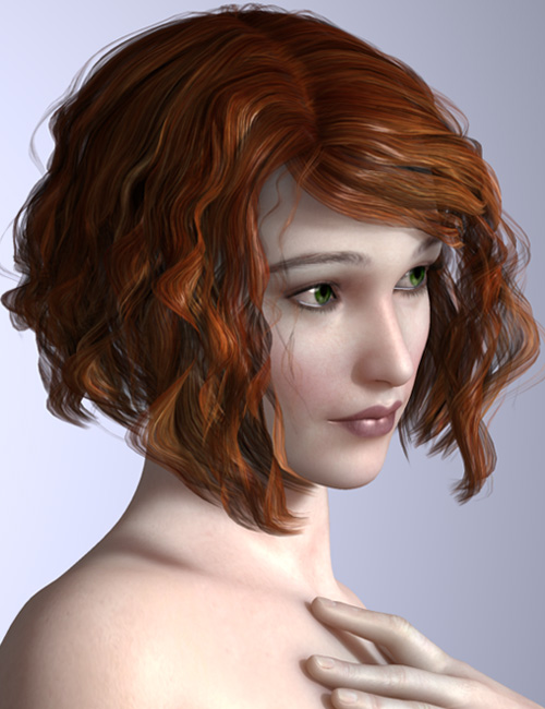 Gia Hair by: AprilYSH, 3D Models by Daz 3D