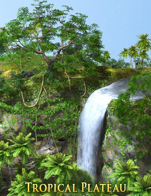 Tropical Plateau by: Andrey Pestryakov, 3D Models by Daz 3D