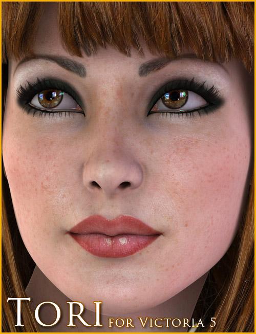 Tori for V5 by: 3DCelebrity, 3D Models by Daz 3D