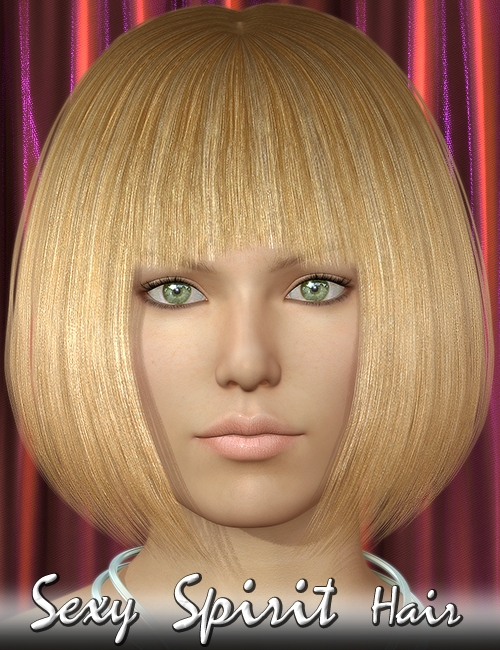 Sexy Spirit Hair by: 3DreamMairy, 3D Models by Daz 3D