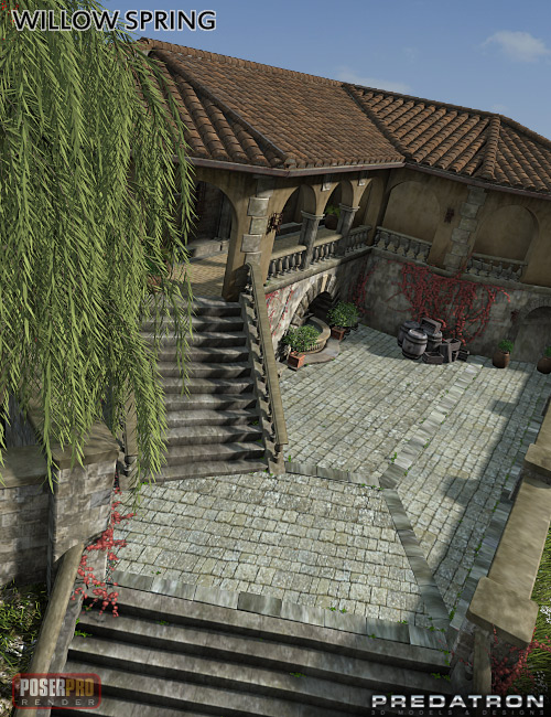 Willow Spring by: Predatron, 3D Models by Daz 3D