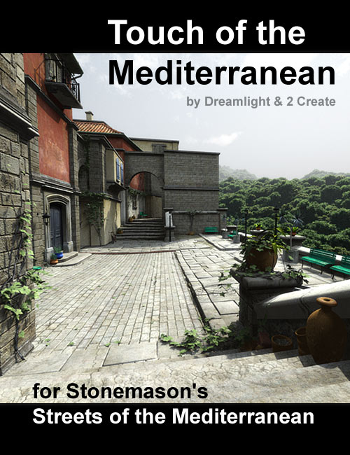 Touch of the Mediterranean by: Dreamlight2 create HB, 3D Models by Daz 3D
